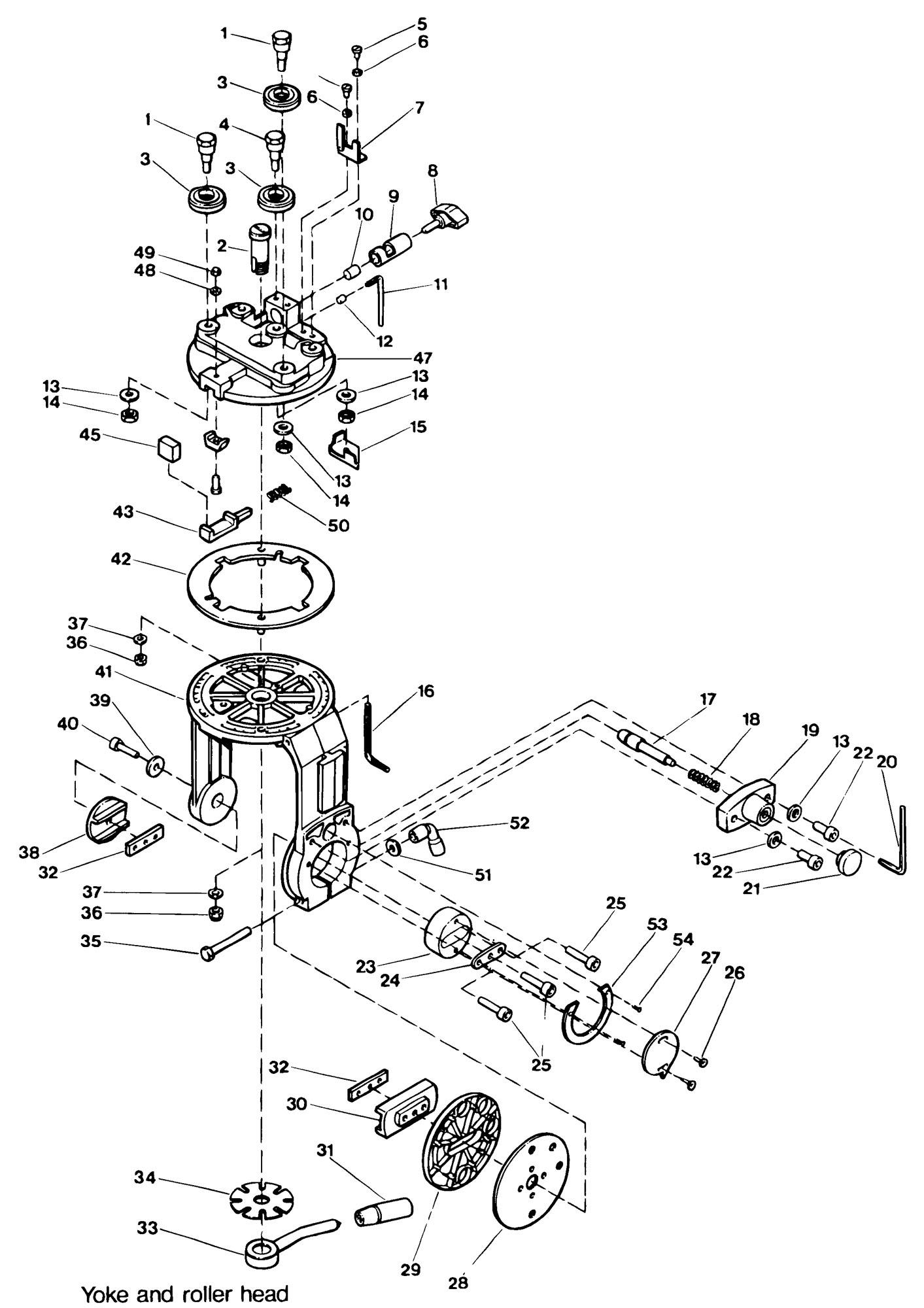 Spares For Dewalt Dw G Radial Arm Saw Type 1