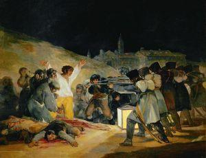"""Francisco Goya's """"El tres de mayo de 1808"""""""
