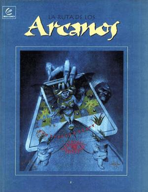 """""""La ruta de los arcanos"""" (publicado por Ergo Comics es un ejemplo de las publicaciones independientes de la época."""