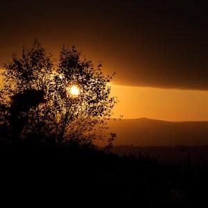 Sunset on Little Haldon