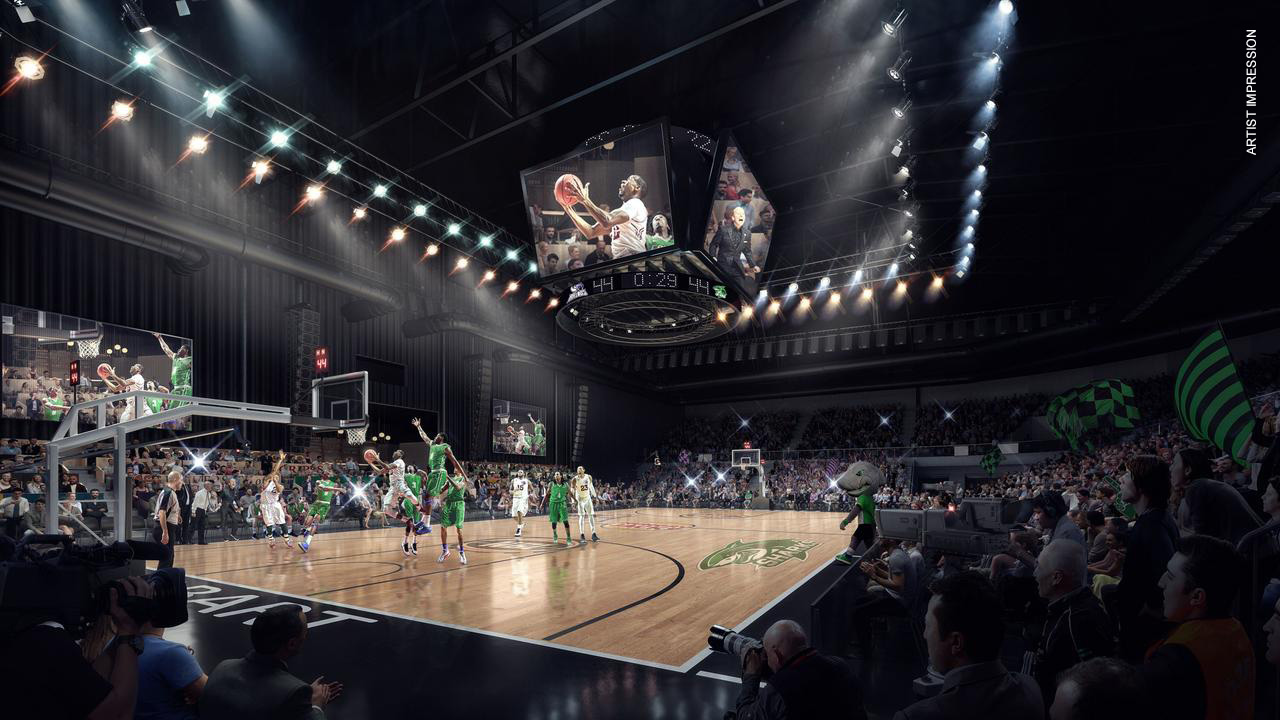 PTI Digital announces NBL as first APAC client for Derwent Entertainment Centre redevelopment