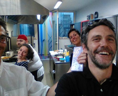 noi in cucina al petit hotel