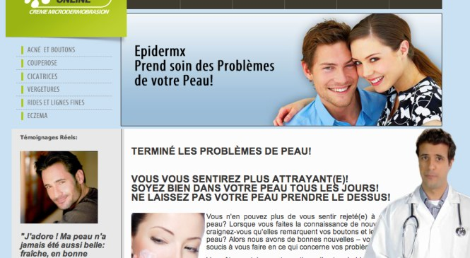 Traitement Acne Epidermx – adieu-acne.com
