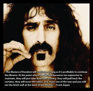 Frank Zappa - Illusion of freedom