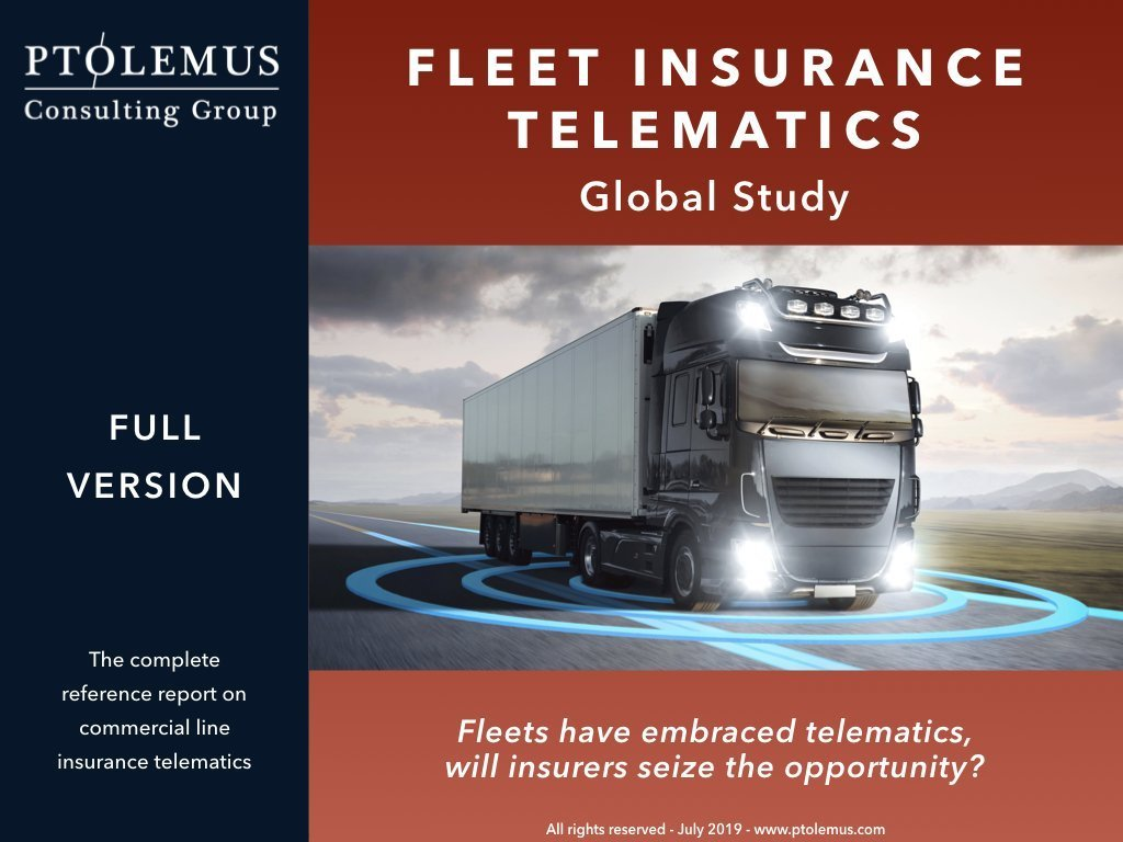 Fleet insurance telematics report cover