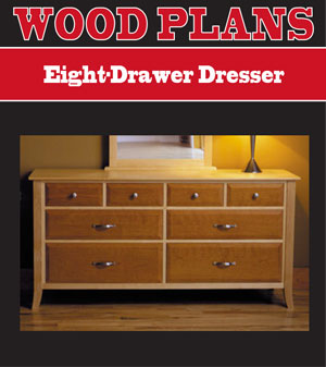 woodworking plans dresser draw