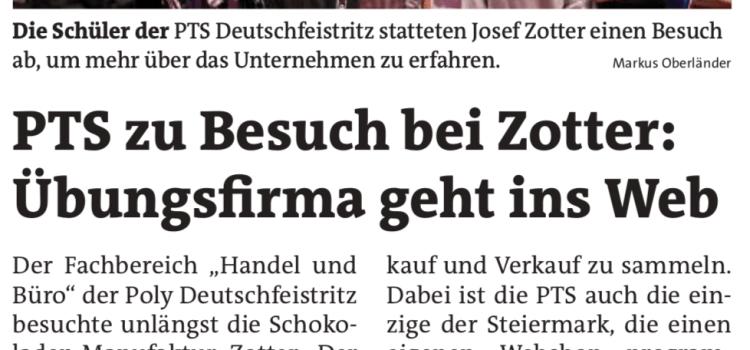 Die PTS Deutschfeistritz in den Medien