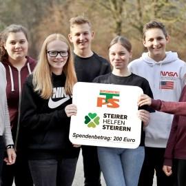 2019_12_23: EUR 200 für Steirer helfen Steirern