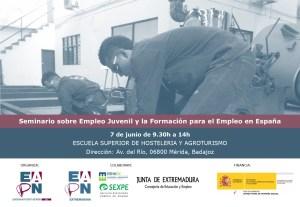 Invitación Seminario Empleo Juvenil y FPE_Mérida