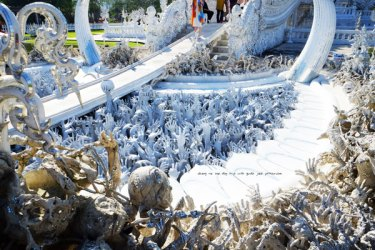 One day visit White Temple, Black House,blue temple