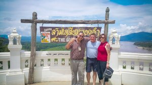 a day trip to Chaing Rai and the golden triangle.