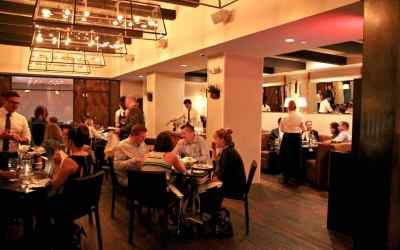 Elegant and Understated Design for Scarpetta Italian Restaurant in Philadelphia, PA