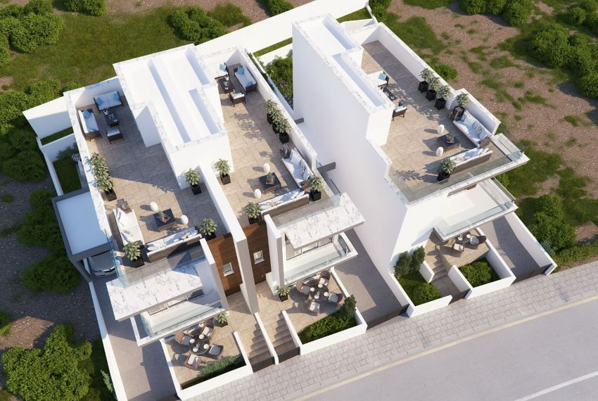 EXTERIOR ROOF GARDENS FOR HOUSES COMPLETED (OPTIONAL )_