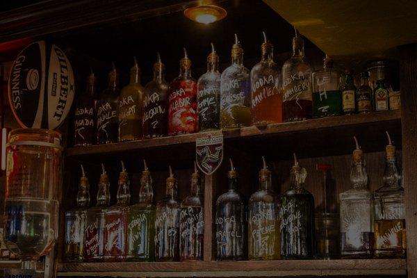 bouteilles de shooters