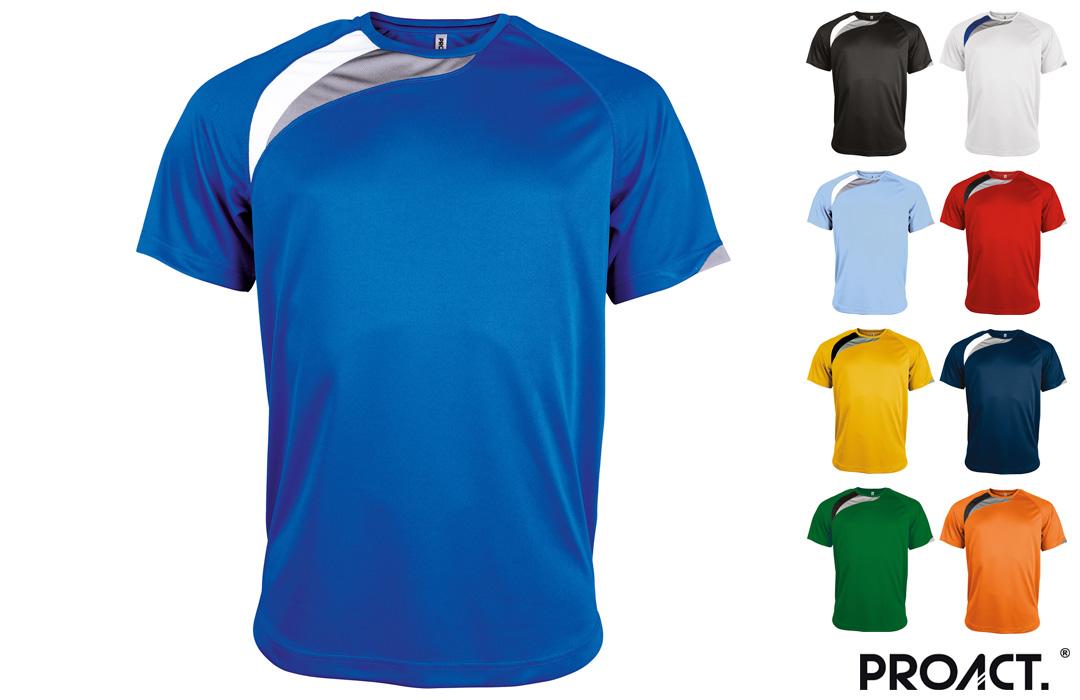 Tee shirt de sport personnalisé