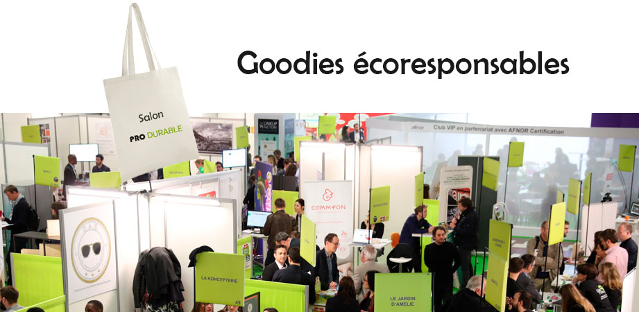des goodies eco-responsables