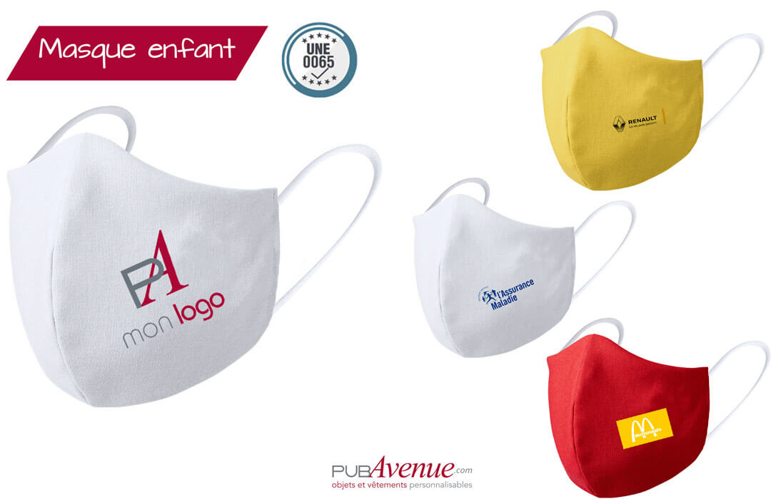 masque de protection pour les enfants