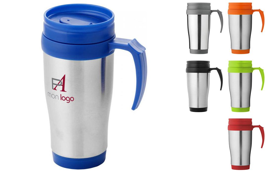 mug isotherme personnalisable