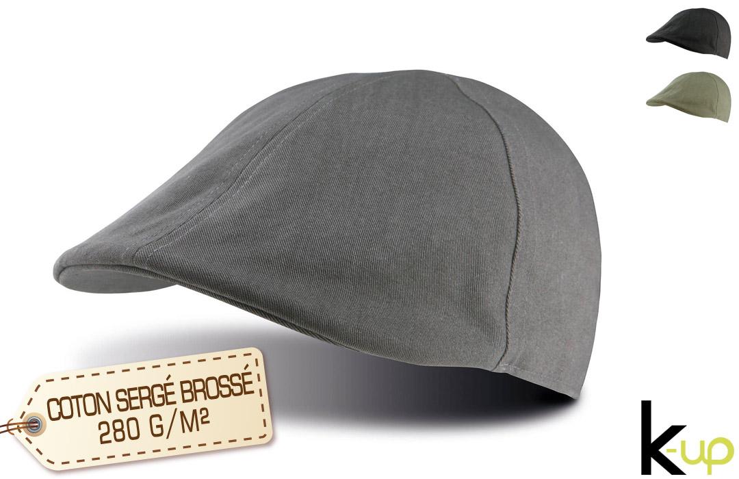 casquette beret plat personnalisée