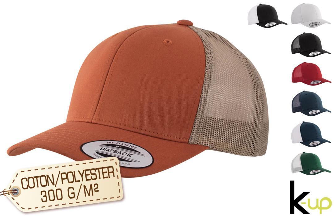 casquette personnalisée haut gamme pour entreprise