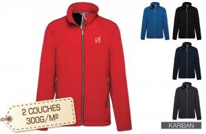 veste softshell personnalisée pas cher pour homme
