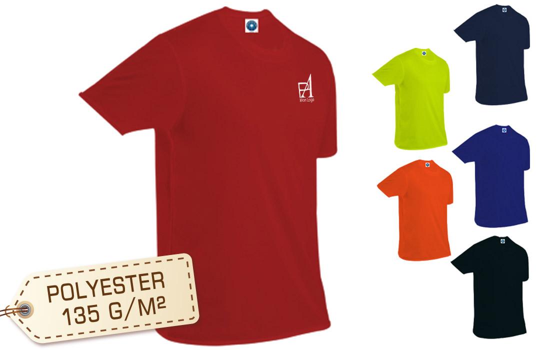 tee shirt publicitaire respirant - PubAvenue