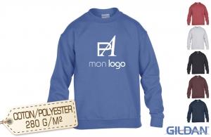 sweat shirt personnalisé avec logo