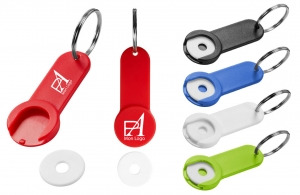 porte clés personnalisé avec un texte