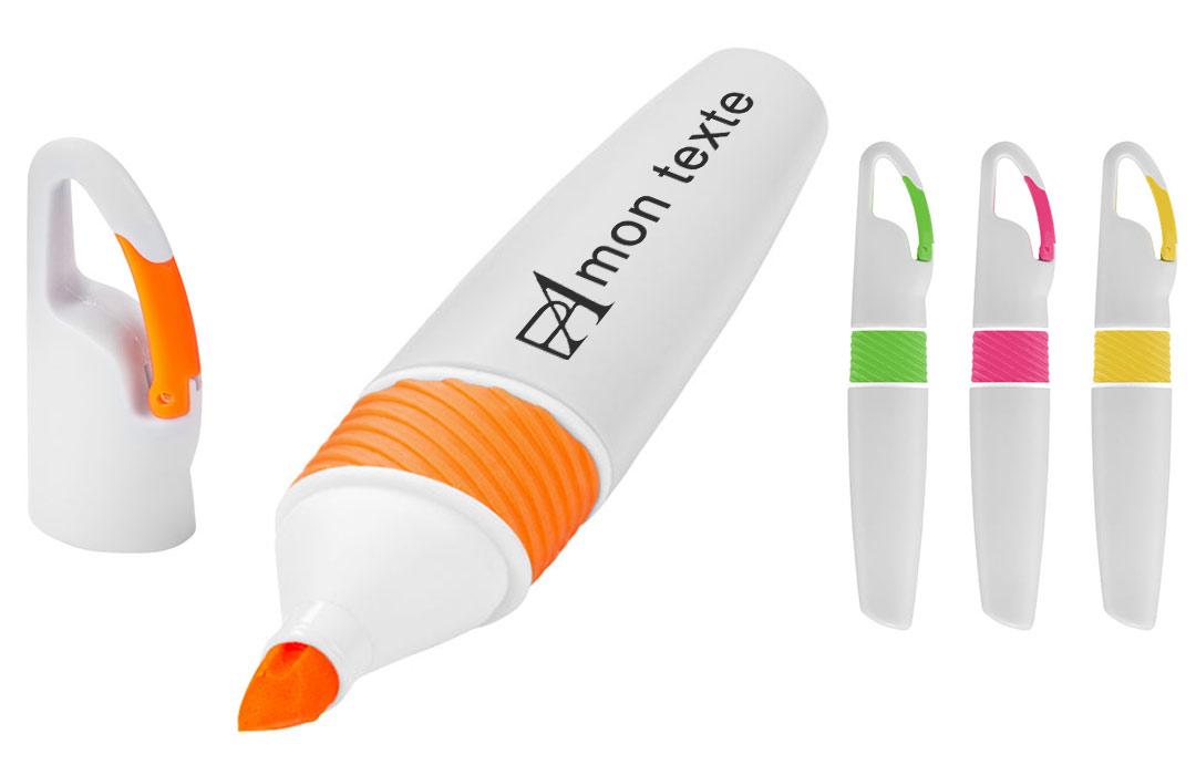 stylo marqueur imprimé avec logo quadri