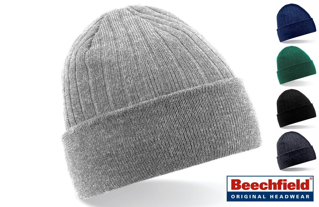 bonnet personnalisable avec une doublure en polaire
