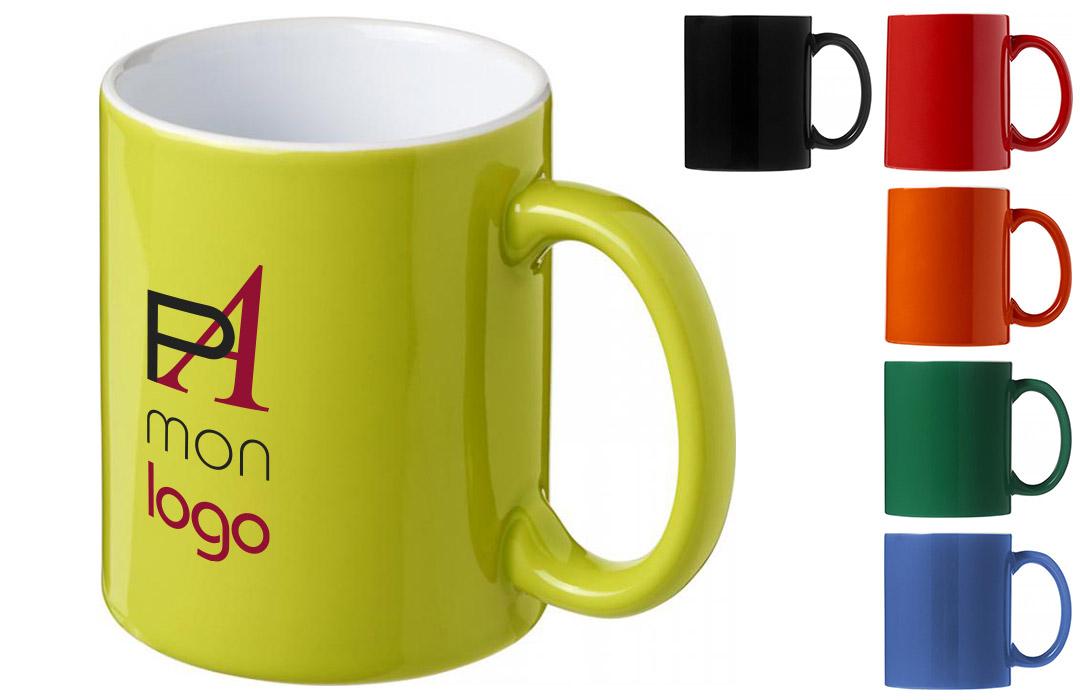 mug personnalisé en sérigraphie