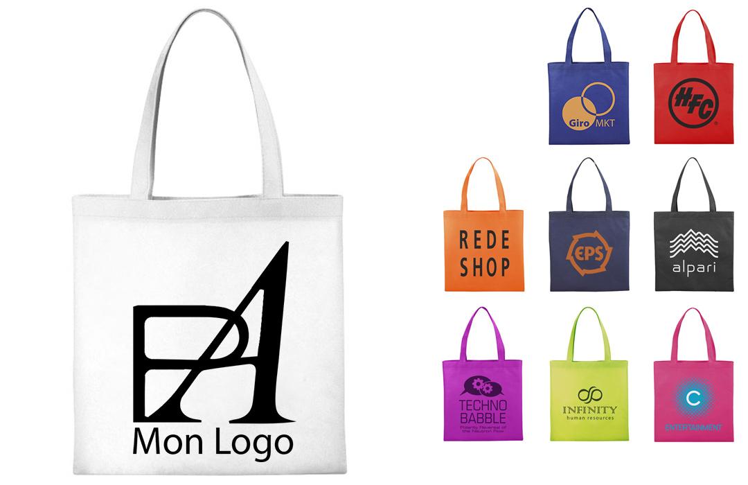tote bag personnalisé avec logo
