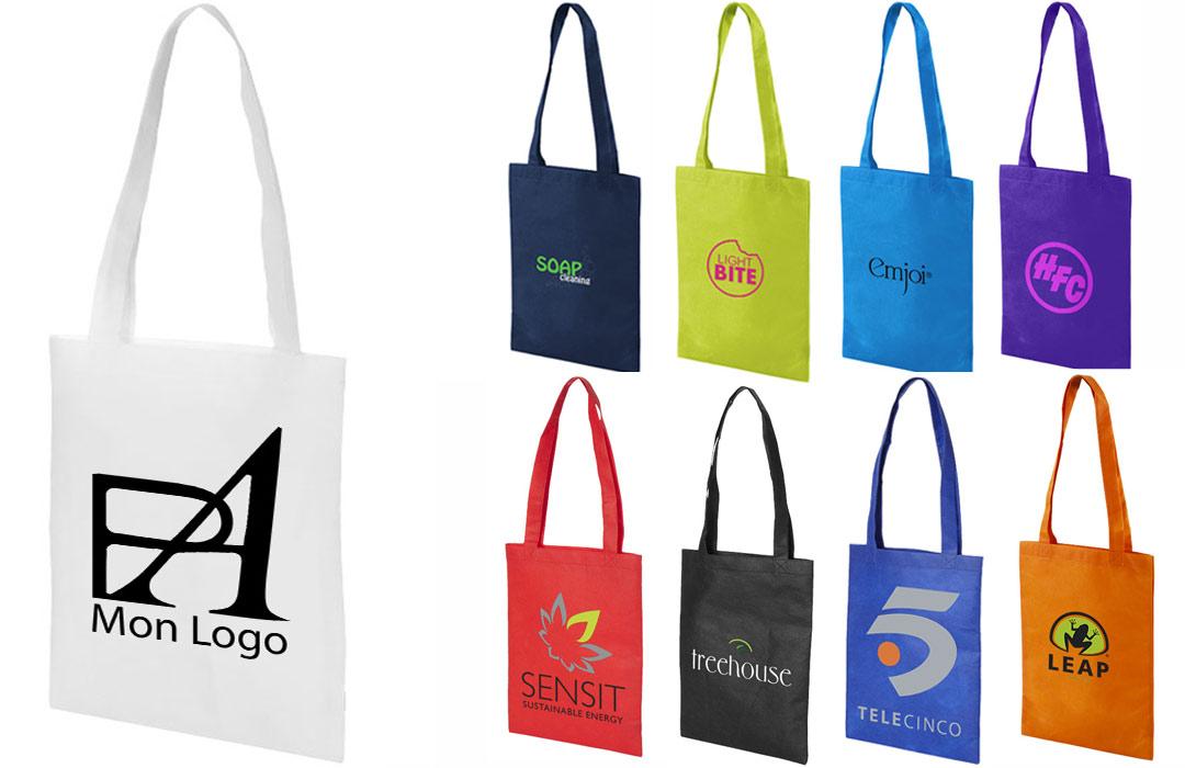 Tote bag personnalisé avec logo - Pubavenue