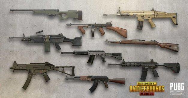 ما هى أفضل أسلحة ببجى موبايل أقوي أسلحة يمكن استخدامها في لعبة