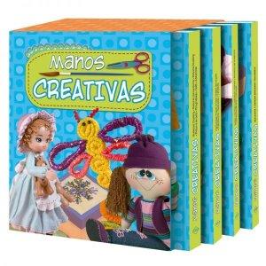 Libro Manos Creativas 4 Tomos