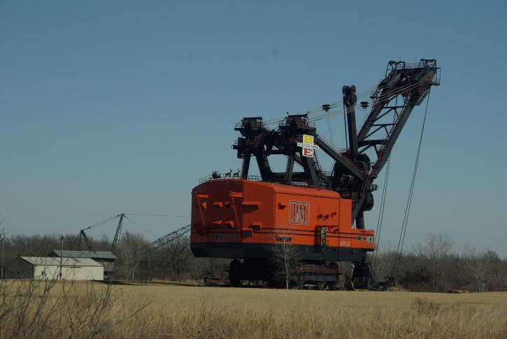 Free Picture Big Brutus Coal Mines Kansas