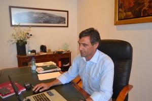 Na foto: O presidente da Câmara Municipal de Santa Marta de Penaguião