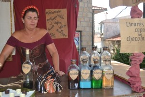 Sandra Borges foi de Almada até Penedono para vender os seus produtos