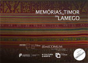 """Capa do """"Memórias de Timor"""""""