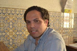 Romeu Sequeira, presidente da freguesia da Penajóia e da associação AMIJÓIA  Foto: Ana Portela