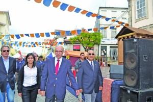 Francisco Lopes, presidente da autarquia, em visita ao certame