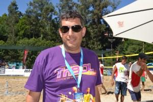 Adriano Tavares, diretor do torneio/ Foto: Salomé Ferreira