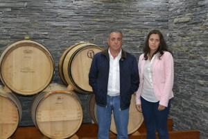 Manuel Mateus e Cláudia Mateus, proprietários da empresa / Foto: Salomé Ferreira