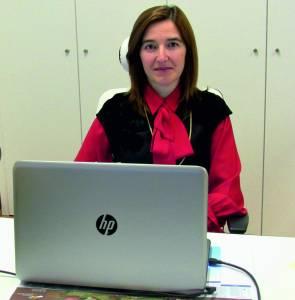 Cristina Ferreira, vice-presidente da Câmara Municipal de Penedono/ Foto: Direitos Reservados