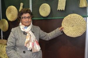 Silvandira Gregório, artesã/ Foto: Salomé Ferreira
