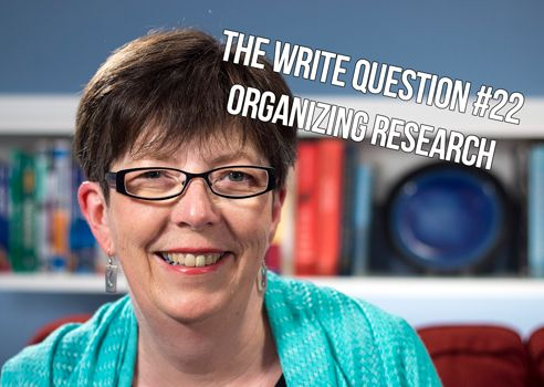 organize research