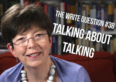 talking about writing
