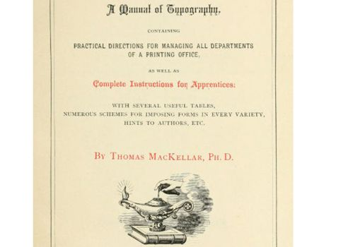 typographical manual