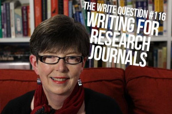 How to write for research journals