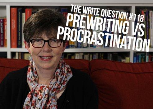 prewriting and procrastination